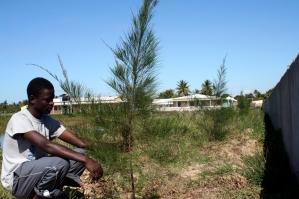 Fernando, trabajador encargado de los cultivos y los animales / Moncho Torres