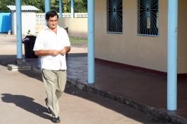 Padre Pedro, director del centro (en Mozambique desde agosto de 2005)